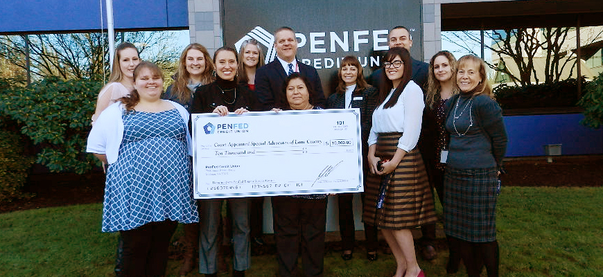 PenFed Credit Union Announces $100,000 In Donations To Eugene Charities In 2018