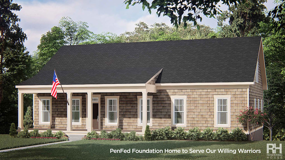 image of PenFed Foundation Home to Serve Our Willing Warriors Returning from Service