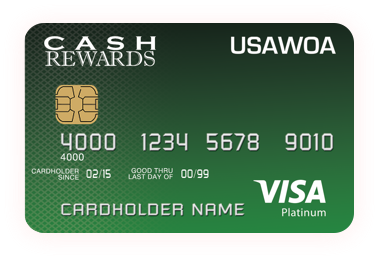 United States Army Warrant Officers Association Platinum Cash Rewards Card