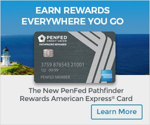 Earn rewards everywhere you go with PenFeds Pathfinder American Express Card