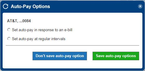 auto-pay setup step 3