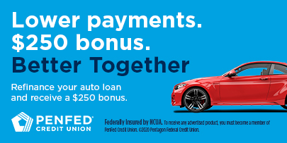 Auto Loan Refinance Rate Penfed Credit Union Used New Car