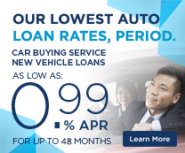 PenFed Car Buying Service - Our lowest auto loan rates, period.