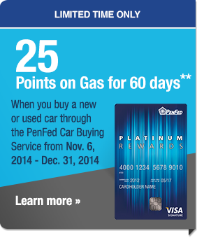 Get 25x points on gas