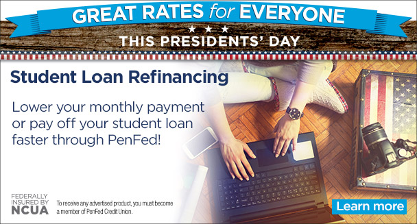 Student Loan Refinancing - Lower your monthly payment or payoff faster through PenFed