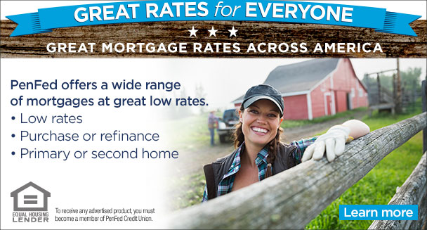 Do better with a PenFed Mortgage