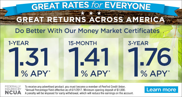 Industry-leading Certificate Rates