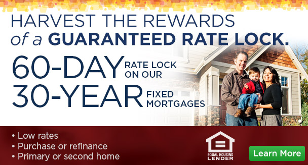 Harvest the Rewards of a Guaranteed Rate lock for 30 yr fixed MORTGAGE
