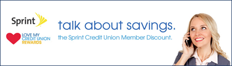 Sprint Credit Union Member Discount - Talk about savings.
