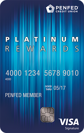 PenFed Platinum Rewards Visa Signature