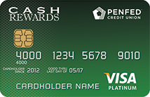 PenFed Platinum Cash Rewards Visa