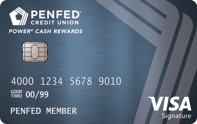 Penfed Power Cash Rewards Card